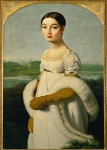 Ingres, Mademoiselle Rivière, 1m x 70cm, 1805, huile sur toile, Paris, Musée du Louvre © Erich Lessing
